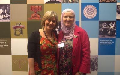Laura Marks and Julie Siddiqi of Nisa-Nashim