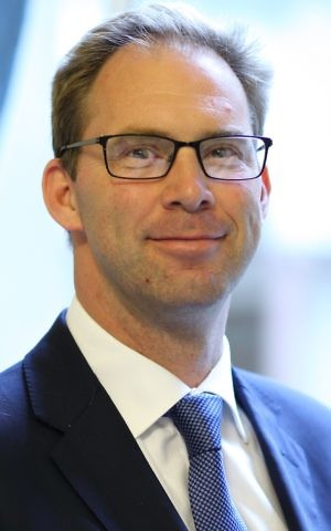 Tobias Ellwood MP, UK Middle East minister