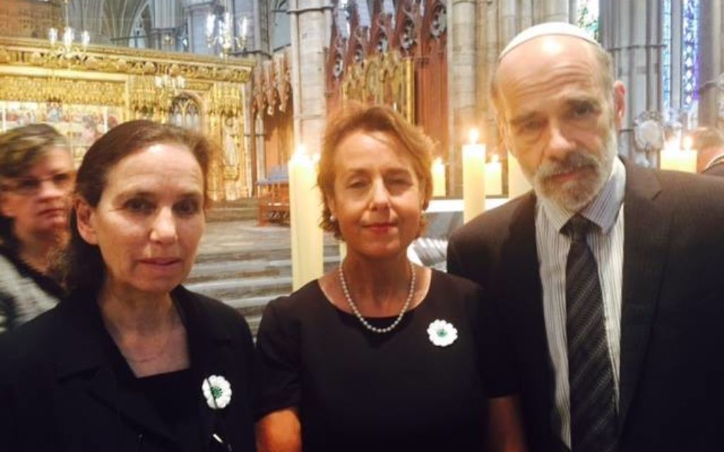 Rabbi Alexandra Wright, Mehri Niknam MBE, Rabbi Jonathan Wittenberg (Photo credit: The Joseph Interfaith Foundation)