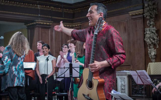 Berakah St. James 2015 choir & Mo
