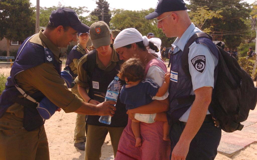 Disengagement of the Israeli community in Gaza