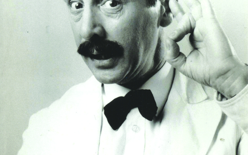 Andrew Sachs as a clumsy Spanish waiter in Fawlty Towers.