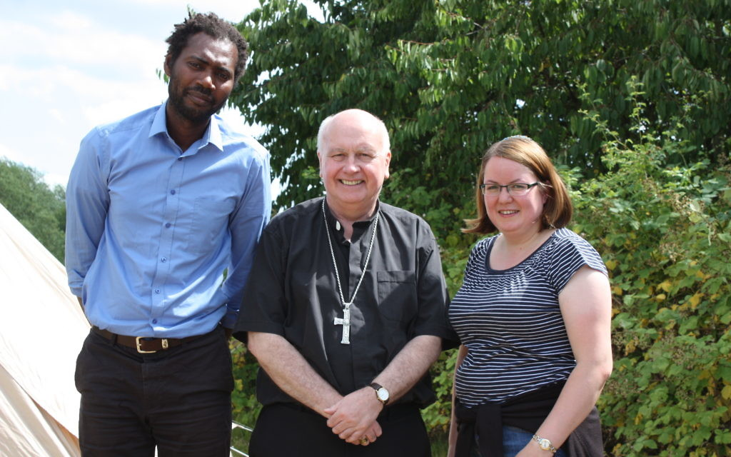 Interfaith leaders came together for the event at Harmondsworth Moor