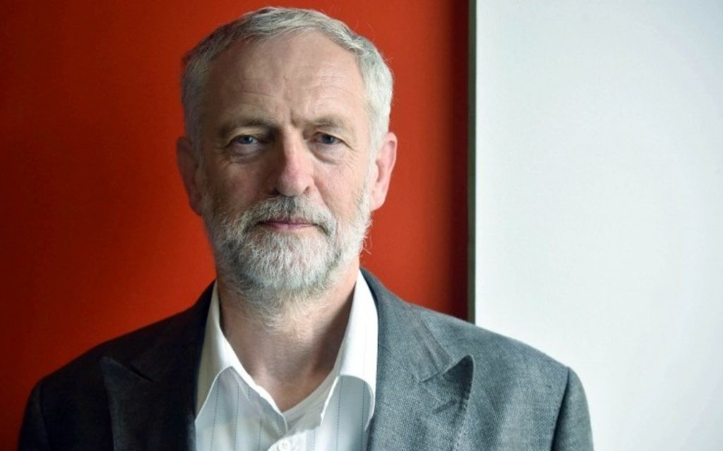 """For use in UK, Ireland or Benelux countries only   Undated BBC handout photo of Labour leadership contender Jeremy Corbyn before a call-in with listeners on BBC Radio 4's World At One programme, where he hit back at """"disgusting"""" claims that he is anti-Semitic and denied he has links with a controversial Lebanese activist. PRESS ASSOCIATION Photo. Issue date: Wednesday August 19, 2015. The left-winger's campaign to take the party's job has been surrounded in controversy over his dealings with extremists and suggestions that some of his supporters are peddling abuse against Jews on social media. See PA story POLITICS Labour. Photo credit should read: Jeff Overs/BBC/PA Wire  NOTE TO EDITORS: Not for use more than 21 days after issue. You may use this picture without charge only for the purpose of publicising or reporting on current BBC programming, personnel or other BBC output or activity within 21 days of issue. Any use after that time MUST be cleared through BBC Picture Publicity. Please credit the image to the BBC and any named photographer or independent programme maker, as described in the caption."""