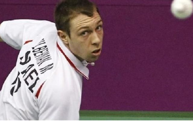 Misha Zilberman has lost his opening match