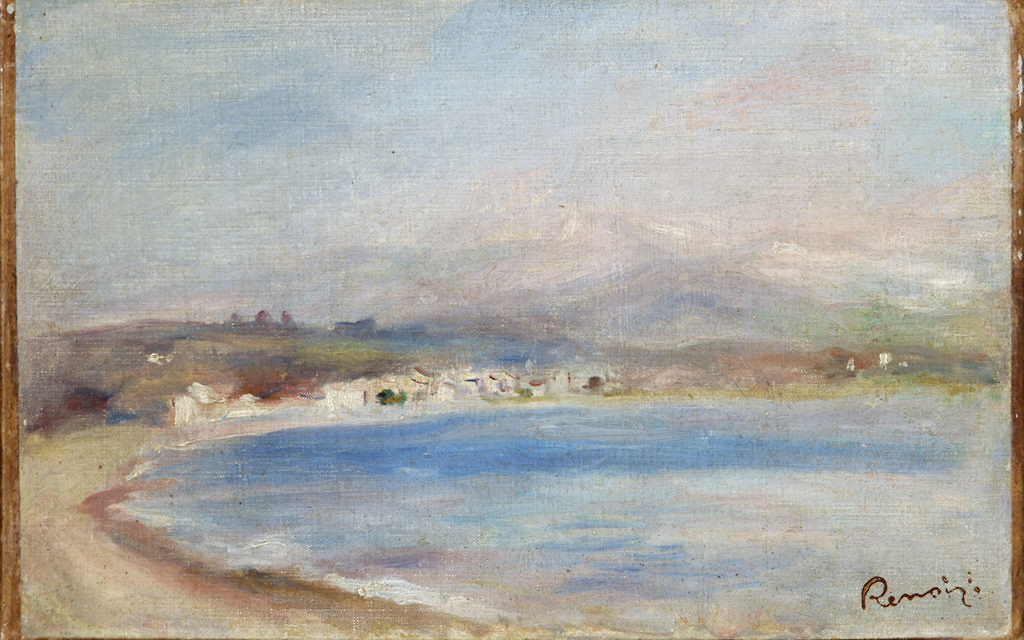 """Image issued by Bristol City Councilof a painting by Pierre-Auguste Renoir titled The Coast of Cagnes, as a report has found that the painting sold at a Nazi-organised """"Jew auction"""" does not have to be returned to the heirs of its previous owners."""