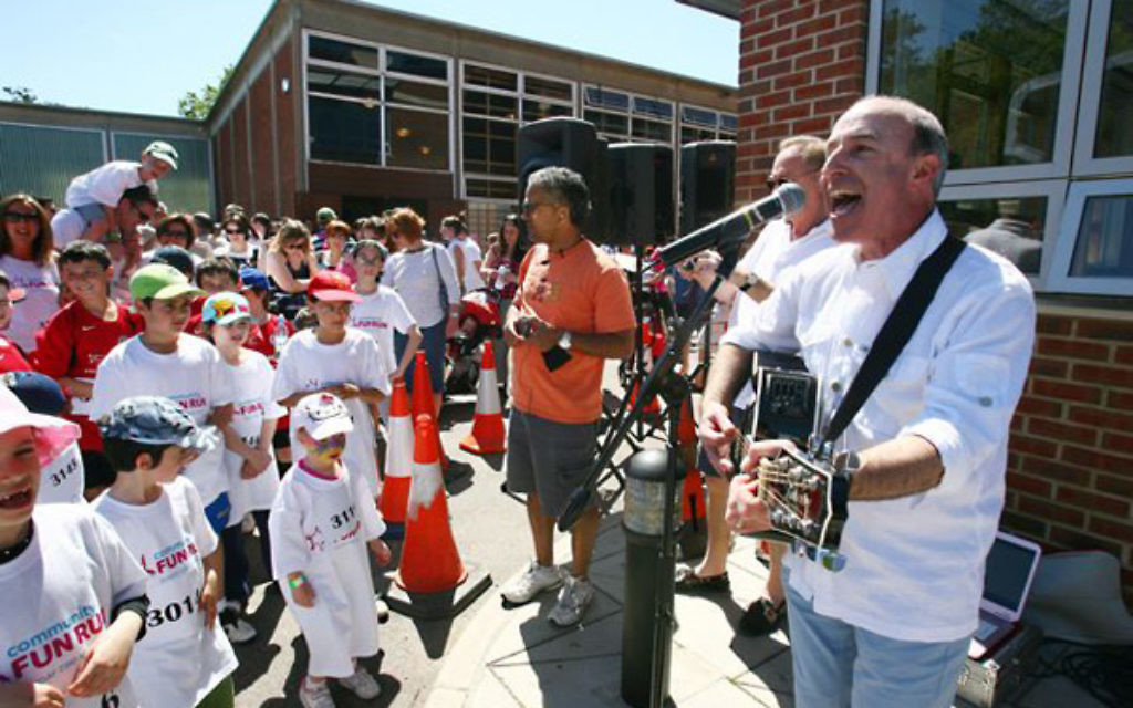 """""""The most thrilling part of all this for me is hearing the children sing my songs,"""" says Stephen Melzack"""