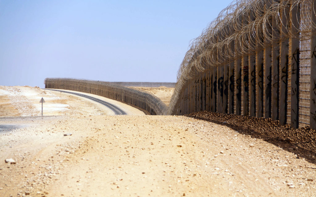 Israel's border with Egypt is partially a heavily barbed fence. Will the same now be the case on the Jordanian border?