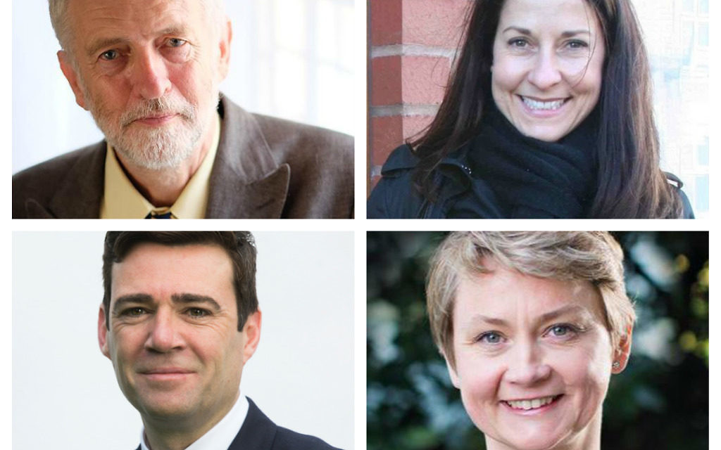 Jeremy Corbyn, Liz Kendall, Andy Burnham and Yvette Cooper, are all in the running for the leader of the Labour party