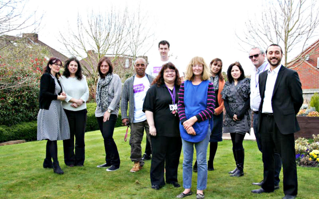 The team at Jewish Blind and Disabled