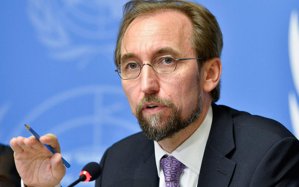 Zeid Ra'ad Al Hussain, UN High Commissioner for Human Rights