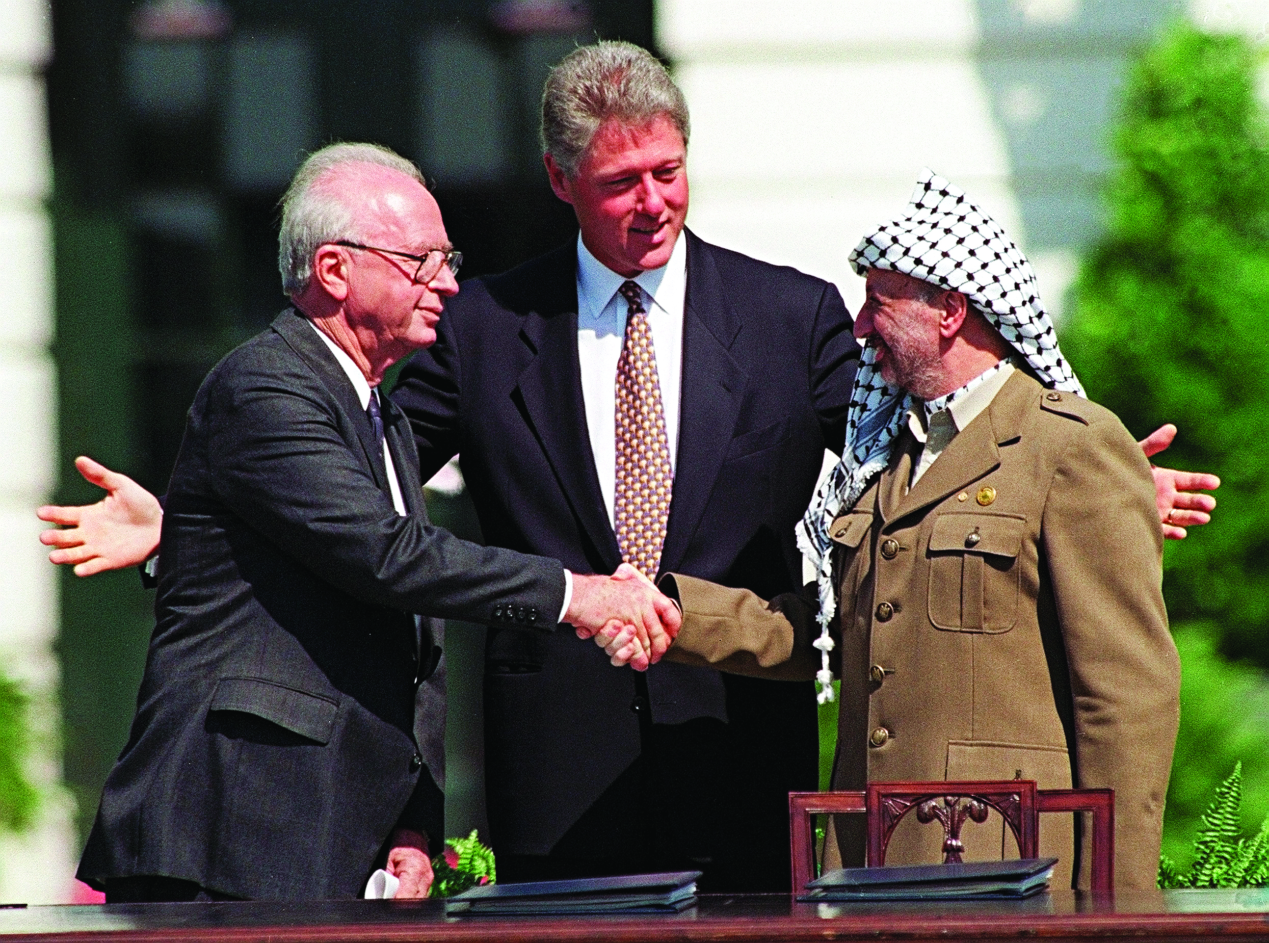 Oslo Accords At 25 Peace In Pieces Jewish News