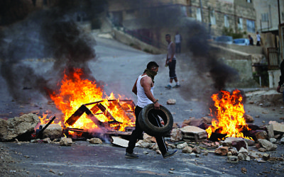Palestinians often clash with Israeli forces in the West Bank