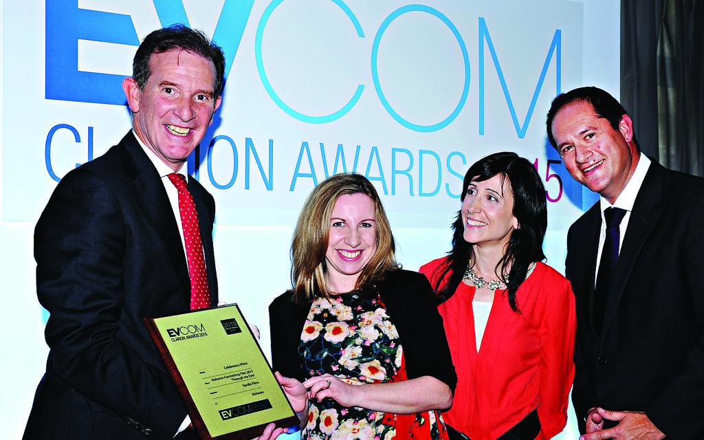 EVCOM Clarion 2015 awards