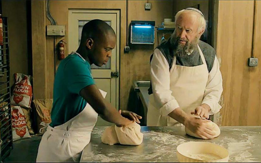 Dough, a film made by Jeremy Freedman, features Jonathan Pryce, above, as an old Jewish baker