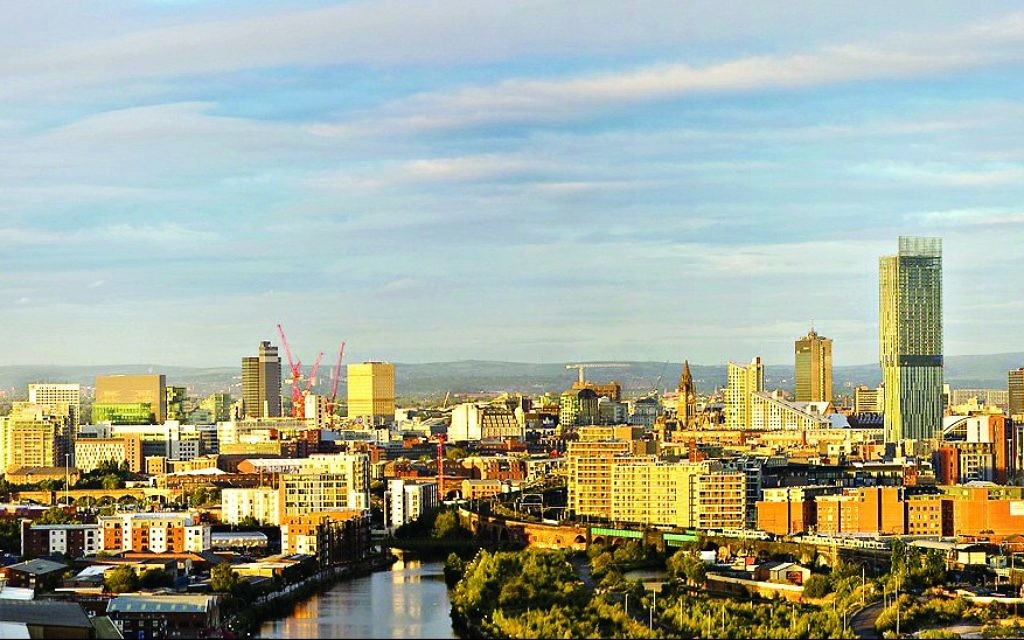 Manchester's ever changing skyline