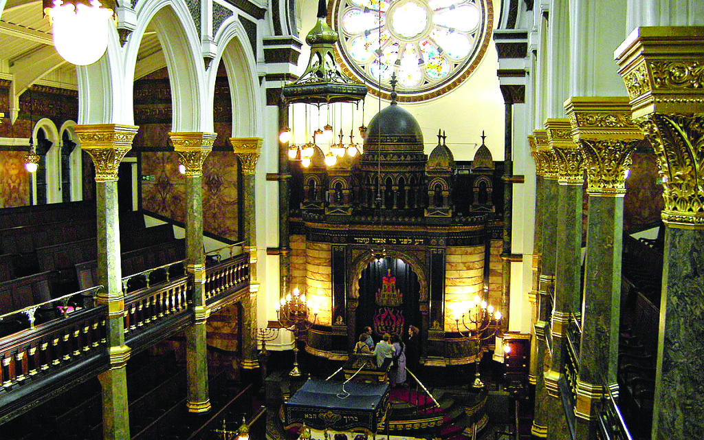 The New West End Synagogue is holding an open day this month