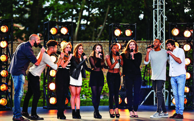 The X Factor is a Thames/Syco production for ITV.   X FACTOR - Series 12   Expect The Unexpected… The X Factor returns to ITV  BOOTCAMP COUNTRY HOUSE UNDER STRICT EMBARGO UNTIL 00.01 ON SUNDAY 20TH SEPTEMBER.  Picture Shows:  ANDY TAYLOR, JAMIE BENKERT, MON AMIE, JOSH DANIEL and  BEN CLARKE  Television's biggest search for a music star is back as The X Factor returns to ITV, with a new stellar judging panel and a dynamic new presenting duo.  The brand new super six sees Simon Cowell, Cheryl Fernandez-Versini, Nick Grimshaw and Rita Ora take their places at the judges' desk, while presenters Olly Murs and Caroline Flack will be guiding the search to find a potential pop star with an amazing voice and that extra special something.  ©Thames/Syco/Fremantle Media