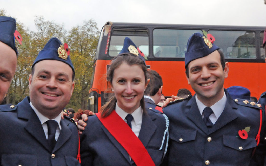 JLGB at the AJEX parade 2015