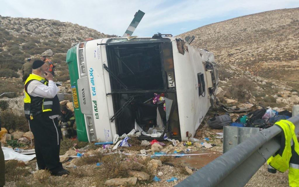 Dozens were injured in today's crash