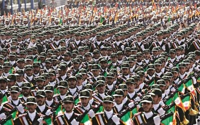 Iran's Revolutionary Guard (AP Photo/Vahid Salemi)
