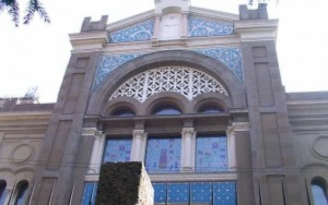 Milan Synagogue (Wikimedia commons)