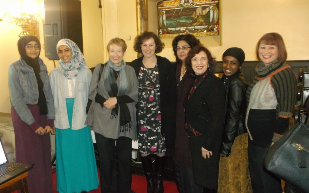 Several Jewish and Muslim women recited original writing at the event
