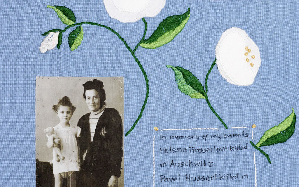 """Undated handout photo issued by The '45 Aid Society of a quilt created by Zdenka Husseri, a holocaust survivor, which will go on display at the Jewish Museum in London to commemorate 70 years in the UK. PRESS ASSOCIATION Photo. Issue date: Thursday December 3, 2015. At the end of the Second World War, the British government offered to bring 1,000 orphaned child survivors of the Nazi concentration camps to the UK, but only 732 survivors were found, and although 80 of them were girls they became known collectively as """"the boys'. See PA story ARTS Quilts. Photo credit should read: The '45 Aid Society/PA Wire  NOTE TO EDITORS: This handout photo may only be used in for editorial reporting purposes for the contemporaneous illustration of events, things or the people in the image or facts mentioned in the caption. Reuse of the picture may require further permission from the copyright holder."""