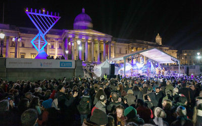 Last year Chanukah in the Square saw over 7,500 people come out to celebrate!
