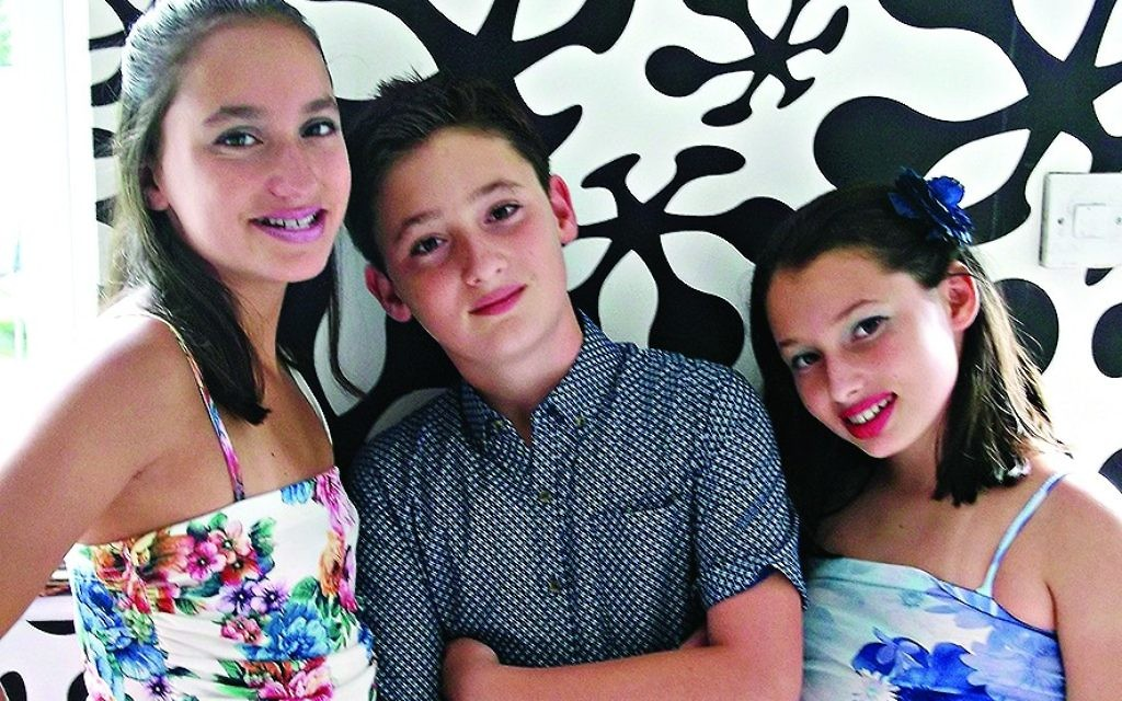 Three times the nachas: Amy, Jack and Dahlia Rodinsky
