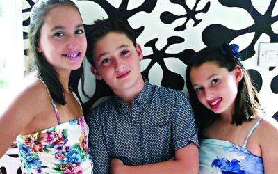 Three times the nachas:Amy, Jack and Dahlia Rodinsky