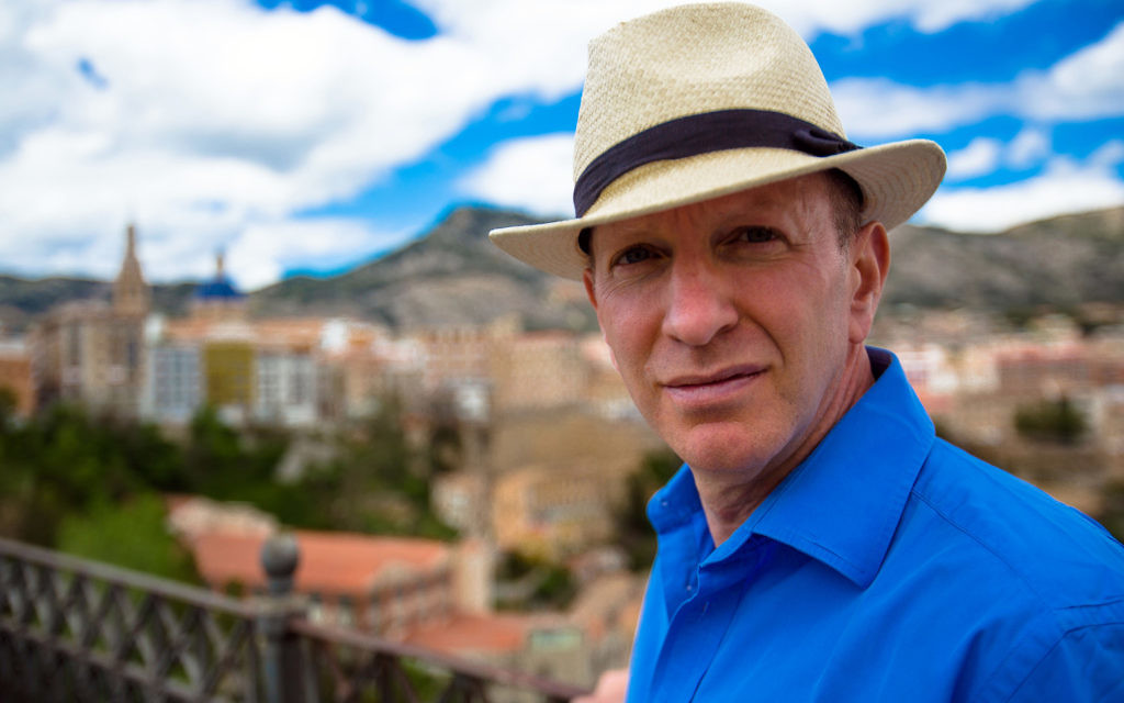 Programme Name: Blood and Gold: The Making of Spain - TX: 15/12/2015 - Episode: n/a (No. 2) - Picture Shows: in Alcoy, Spain. Simon Sebag Montefiore - (C) BBC - Photographer: Craig Hastings