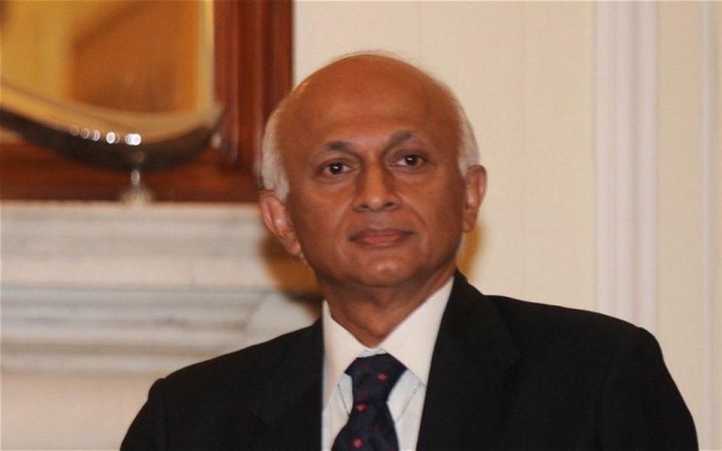 Outgoing High Commissioner Ranjan Mathai