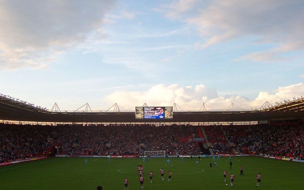St Mary's Stadium, Southampton.