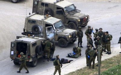 Israeli army responds to one of the attacks