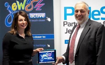"""A new partnership: Chana Kanzen from Jewish Interactive and Rabbi David Meyer from PaJeS"