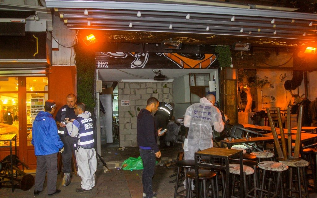 Two people were shot dead and six others wounded in a shooting at a crowded pub on 130 Dizengoff Street in Tel Aviv.