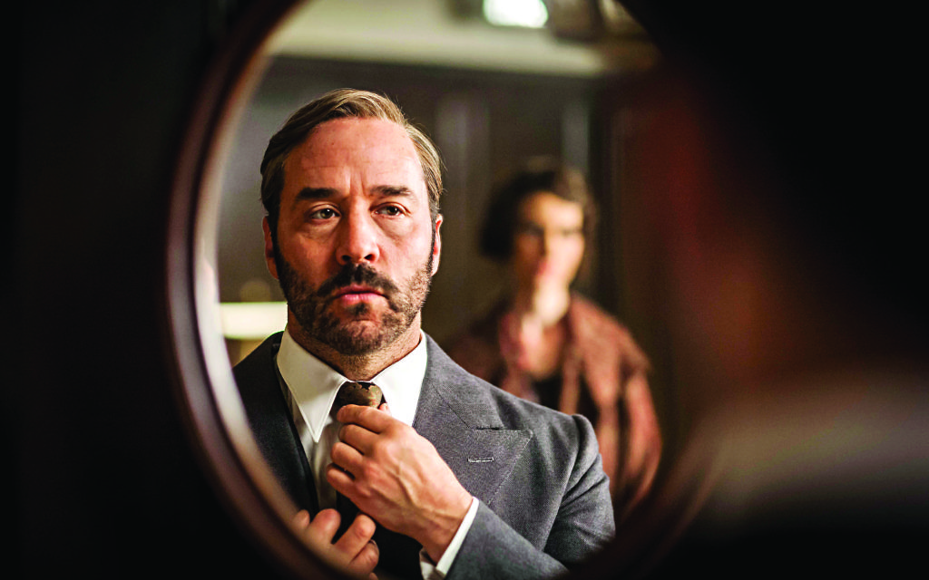 ITV Handout Photo from MR SELFRIDGE. Pictured: JEREMY PIVEN as Harry Selfridge. See PA Feature TV Piven. Picture Credit should read: PA Photo/ITV. WARNING: This picture must only be used to accompany PA Feature TV Piven. WARNING: This photograph is (C) ITV Plc and can only be reproduced for editorial purposes directly in connection with the programme or event mentioned above, or ITV plc. Once made available by ITV plc Picture Desk, this photograph can be reproduced once only up until the transmission [TX] date and no reproduction fee will be charged. Any subsequent usage may incur a fee. This photograph must not be manipulated [excluding basic cropping] in a manner which alters the visual appearance of the person photographed deemed detrimental or inappropriate by ITV plc Picture Desk. This photograph must not be syndicated to any other company, publication or website, or permanently archived, without the express written permission of ITV Plc Picture Desk. Full Terms and conditions are available on the website www.itvpictures.com