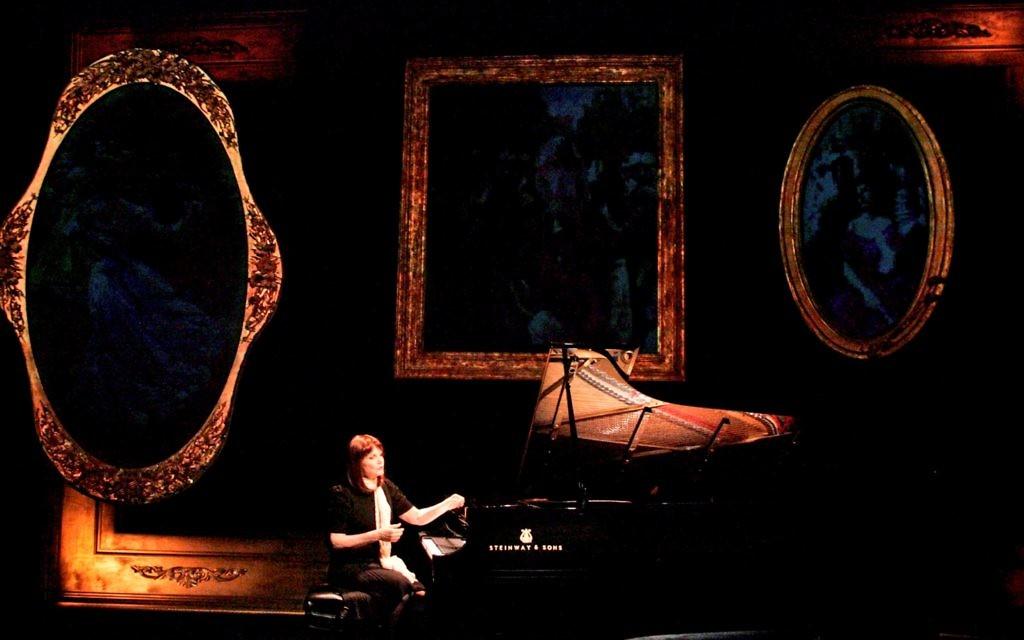 Mona Golabek plays her mother Lisa Jura in The Pianist of Willesden Lane