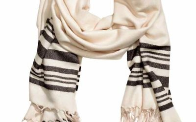 "The tallit lookalike, retailing for £12.99, is being sold as a ""striped scarf""."