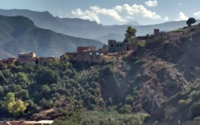 Jewish families once lived in these houses on the ridge. Old Berber villagers still remember their friends.