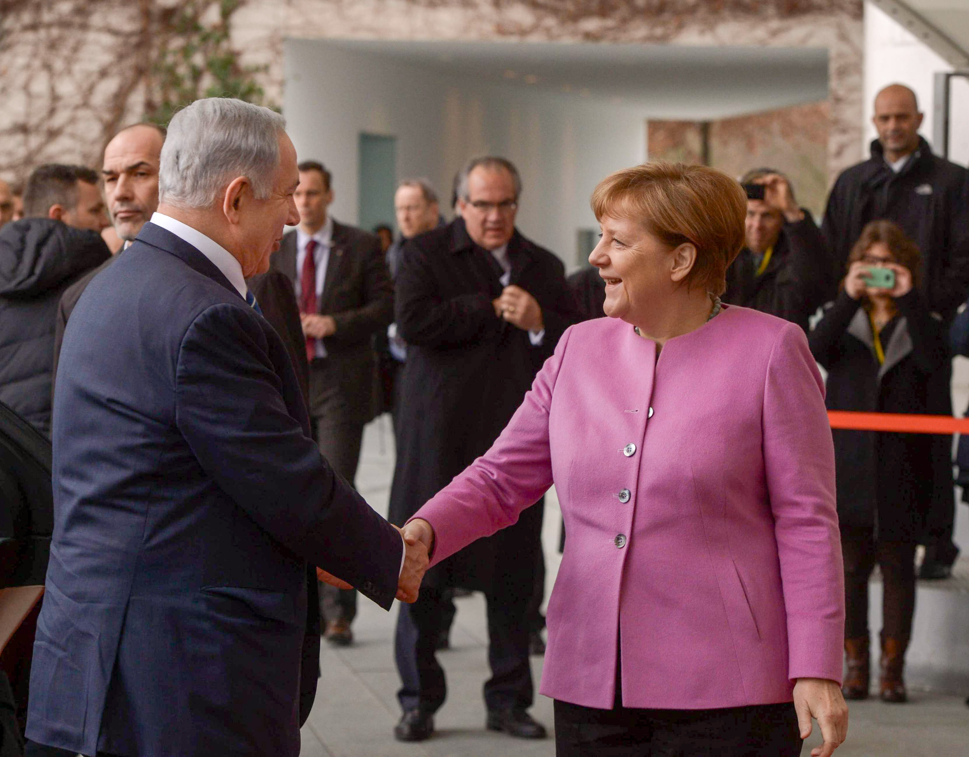 German Chancellor Calls For Iran To Recognise Israel Jewish News