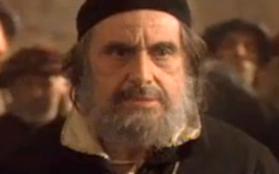 Al Pacino's Shylock in The Merchant of Venice