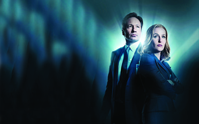 THE X-FILES: L-R: David Duchovny and Gillian Anderson.    THE X-FILES TM & © 2016 Fox and its related entities. All rights reserved.