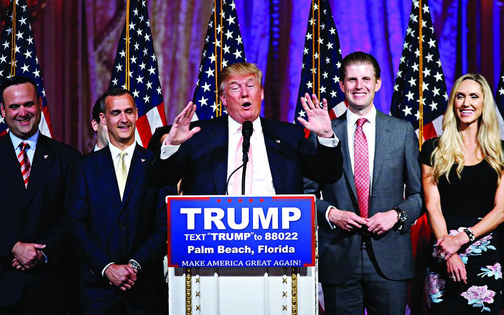 Republican presidential candidate Donald Trump   (AP Photo/Gerald Herbert)