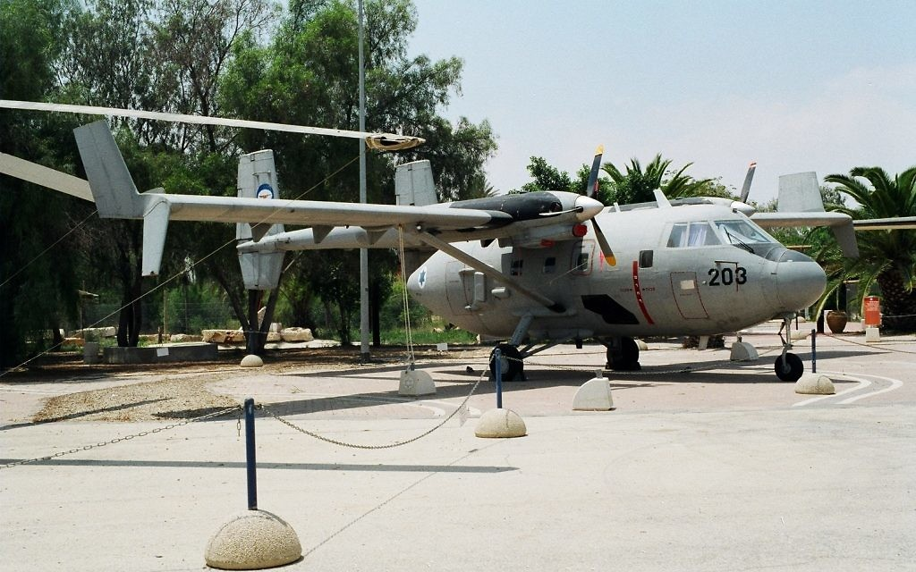 Arava cargo plane in Israel