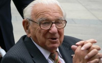 Sir Nicholas Winton was the architect of the Kindertransport