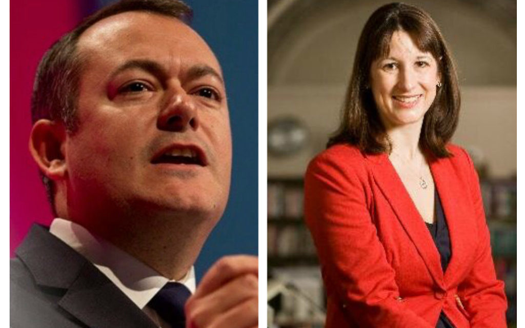 Michael Dugher & Rachel Reeves, Labour MPs for Barnsley East & Leeds West
