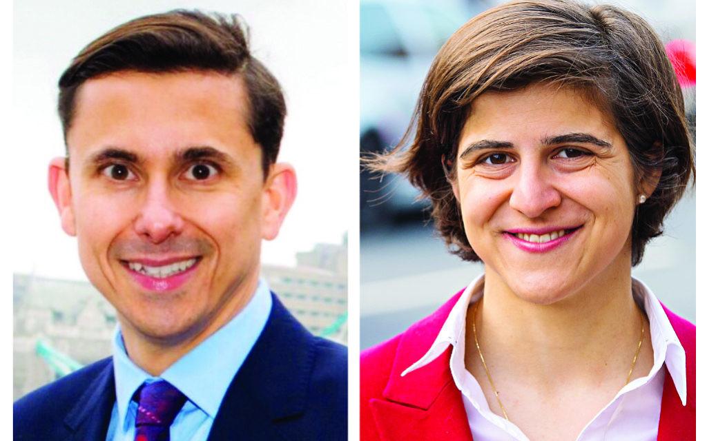 Mike Katz and Sarah Sackman