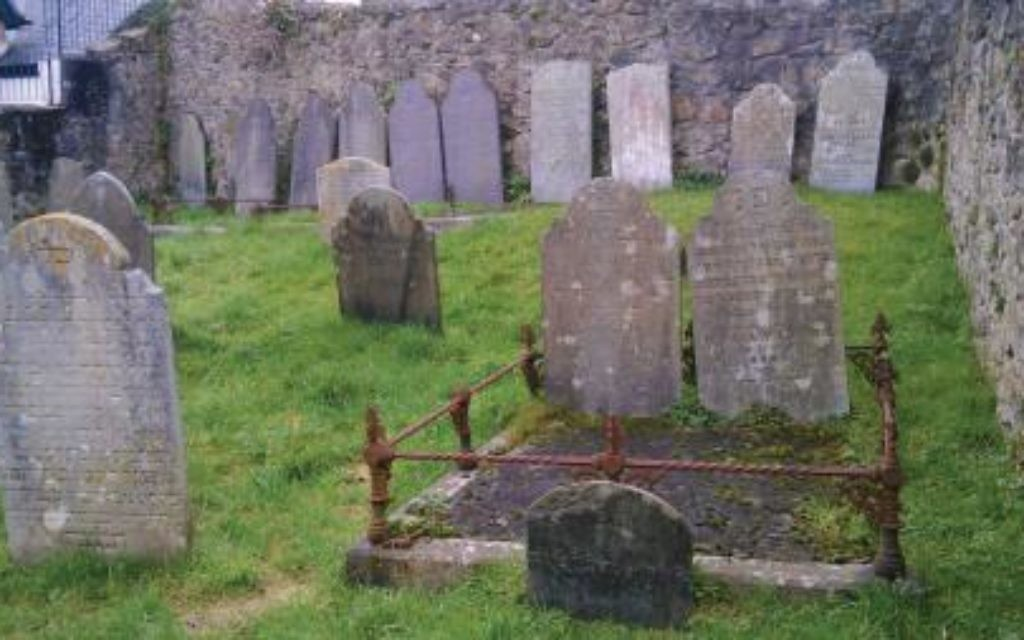 Picture of the cemetery ( Source: Friends of the Penzance Jewish Cemetery site: http://www.penzancejewishcemetery.org.uk/ )